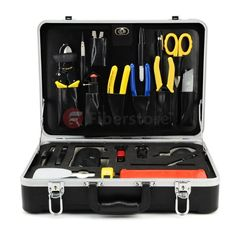 Fiber Optic Cable Fusion Splicing Tool Kit FS-04U