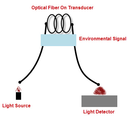 Intrinsic fiber optic sensor