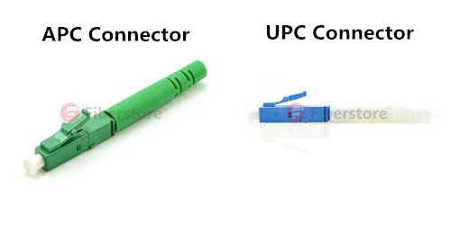 APC connector and UPC connector