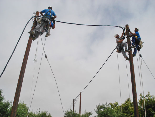 aerial-cable-installation
