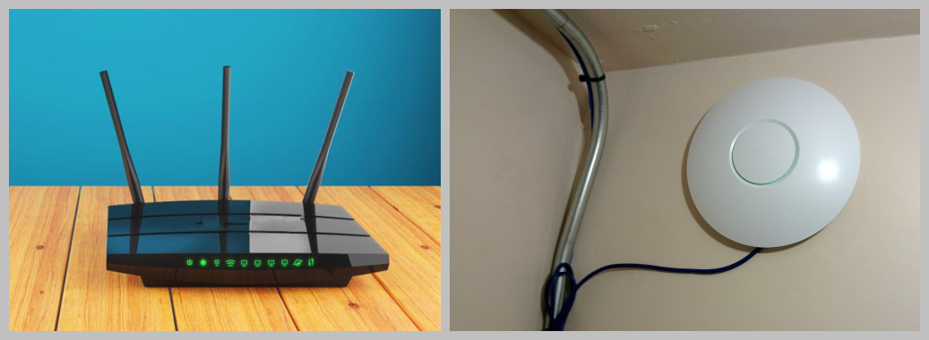 wireless router and wireless access point