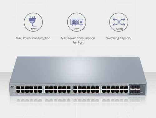 48 port poe switch fs.com