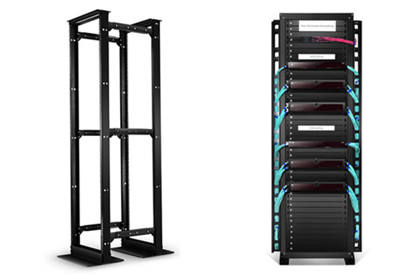 server rack sizes, open frame rack