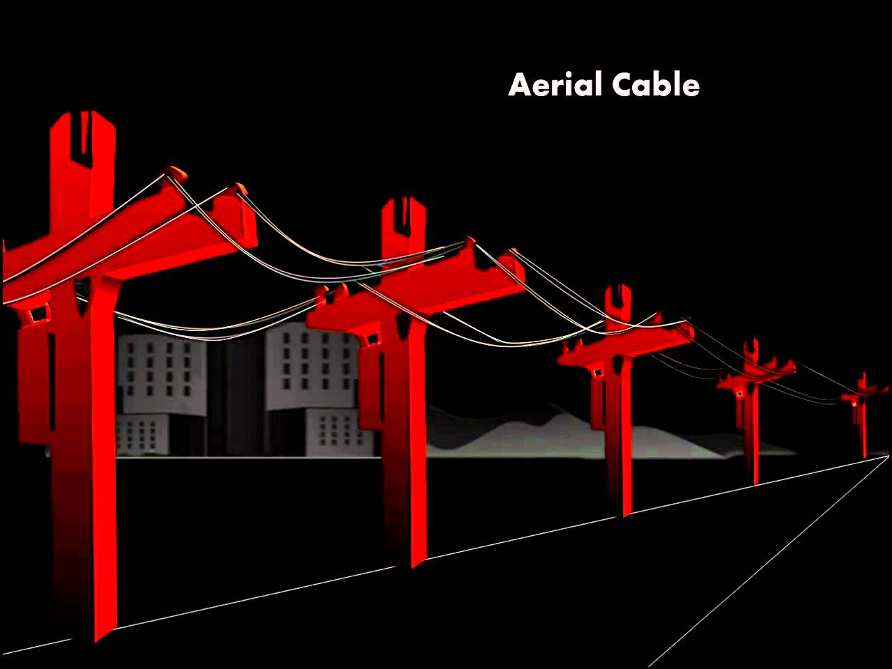 How To Install Aerial Fiber Optic Cables Cabling Solution Wiring Cable